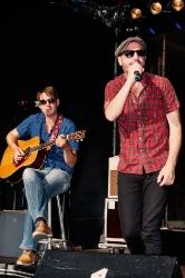 Jan Plewka und Marco Schmedtje (Rio Reiser Festival 2013)
