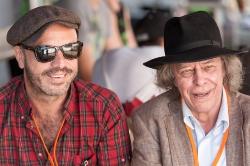 Jan Plewka und Peter Möbius (Bruder von Rio Reiser)